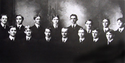 Fifteen of Sigma Phi Epsilon's first 21 members